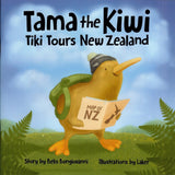 'Tama the Kiwi Tiki Tours New Zealand' Book and Kiwi Hand Puppet Pack