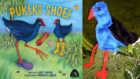 Pukeko Book & Puppet Pack