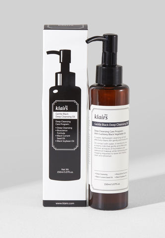 Klairs Gentle Black Deep Cleansing Oil 150ml - Beauty Seoul NZ