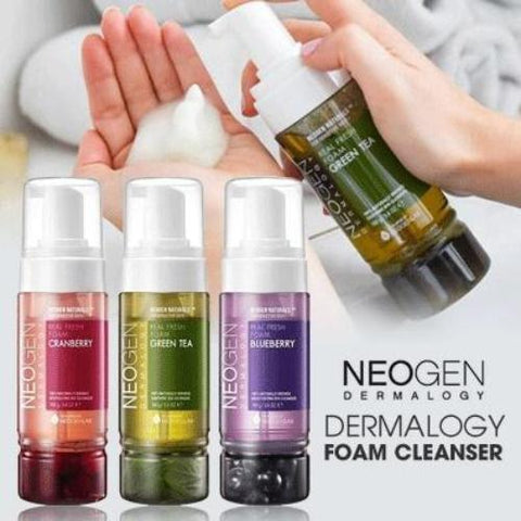 Neogen Dermalogy Real Fresh Foam Cleanser - Beauty Seoul NZ