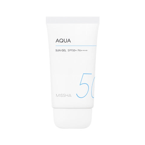 Missha All Around Safe block Aqua Sun Gel spf50 - Beauty Seoul NZ