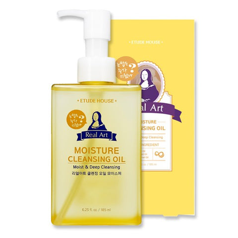 Etude House Real Art Cleansing Oil Moisture - Beauty Seoul NZ