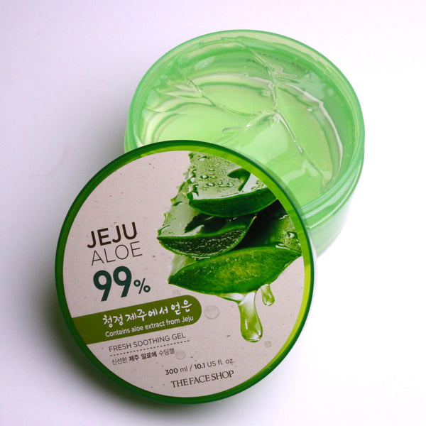 The Face Shop Jeju Aloe 99% Fresh Soothing Gel - Beauty Seoul NZ