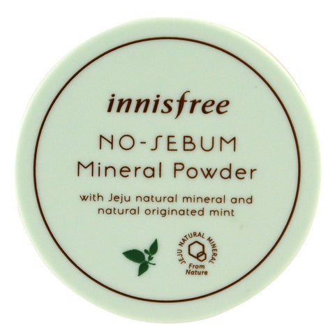 Innisfree No Sebum Mineral Powder - Beauty Seoul NZ