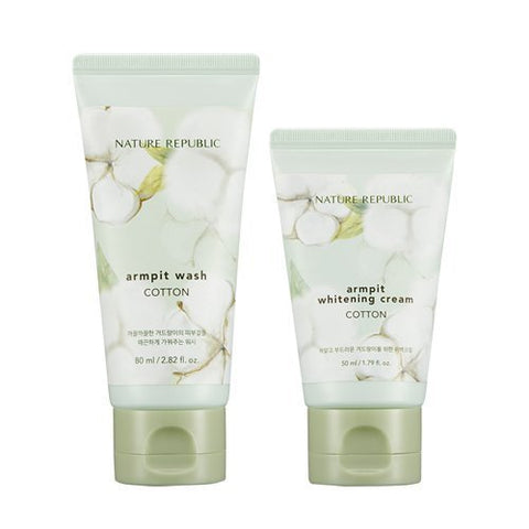 Nature Republic Cotton Armpit Kit - Beauty Seoul NZ