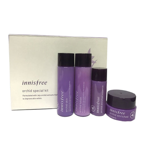 Innisfree Jeju Orchid Special Kit (Trial) - Beauty Seoul NZ