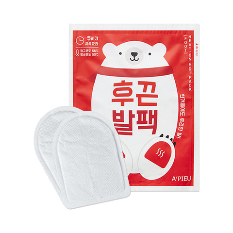 A'PIEU Heat On Hot Pack (Foot) - 1pc - Beauty Seoul NZ