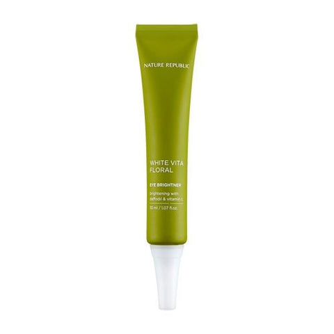 Nature Republic White vita Floral Eye Brightener 30ml - Beauty Seoul NZ