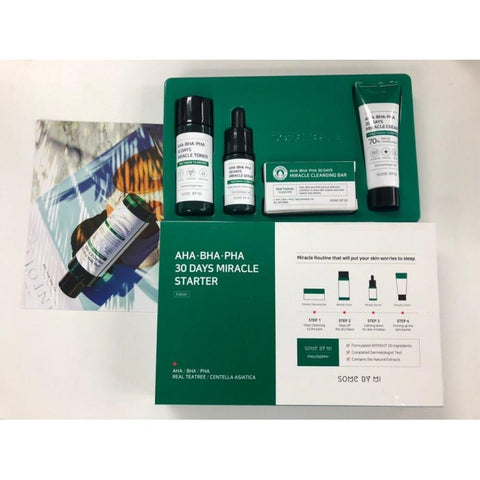 Some By Mi 30 days Miracle Starter Kit - Beauty Seoul NZ