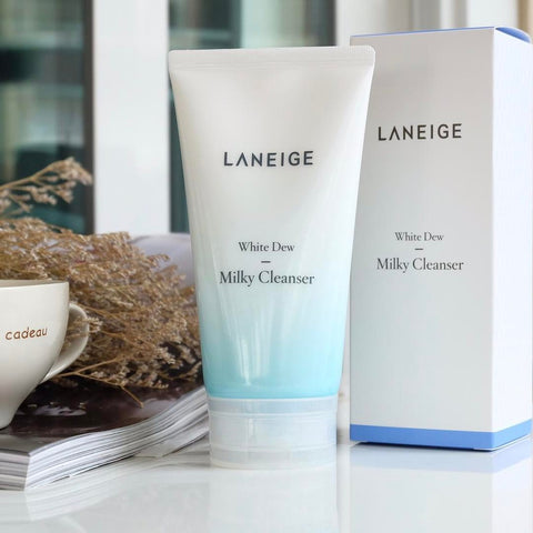 Laneige White Dew Milky Cleanser - Beauty Seoul NZ