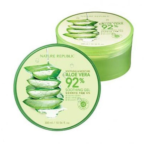 Nature Republic Aloe Soothing Gel - Beauty Seoul NZ