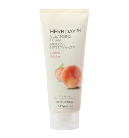 The Face Shop Herb Day 365 Cleansing Foam - Beauty Seoul NZ