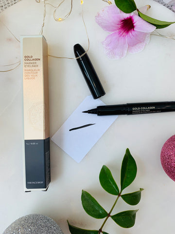 The Face Shop Gold Collagen Marker Eyeliner