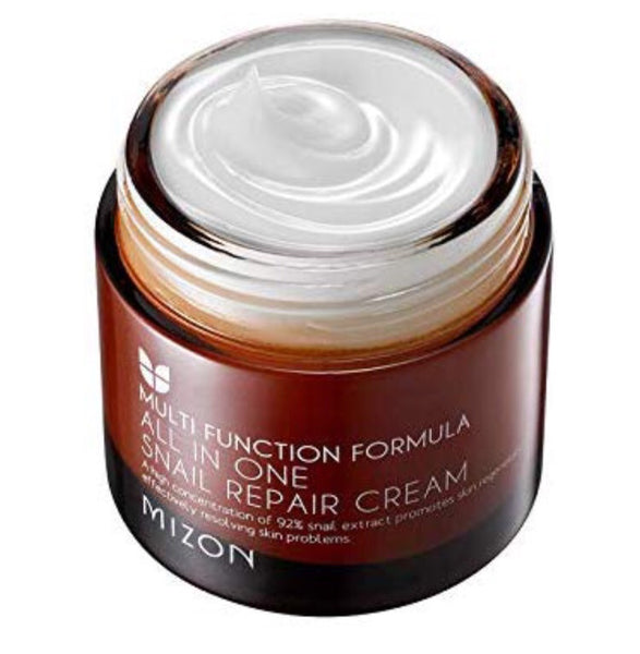 Mizon All In One Snail Repair Cream - 75ml - Beauty Seoul NZ