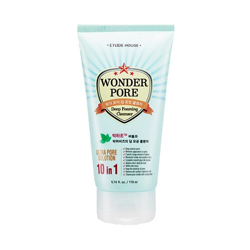 Etude House Wonder Pore Deep Foaming Cleanser - 170ml - Beauty Seoul NZ