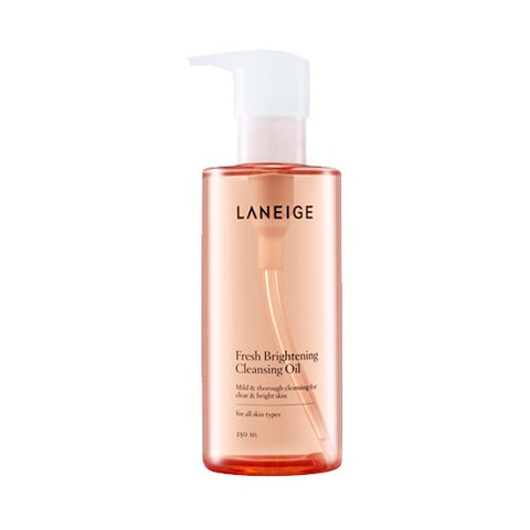 LANEIGE Fresh Brightening Cleansing Oil - 250ml (Request) - Beauty Seoul NZ