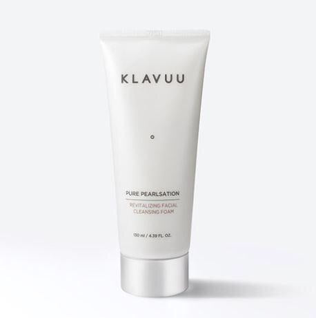 KLAVUU Pure Pearlsation Revitalizing Facial Cleansing Foam (Request) - Beauty Seoul NZ
