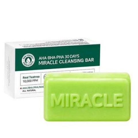 SOME BY MI AHA/BHA/PHA  30 days Miracle Cleansing Bar - Beauty Seoul NZ