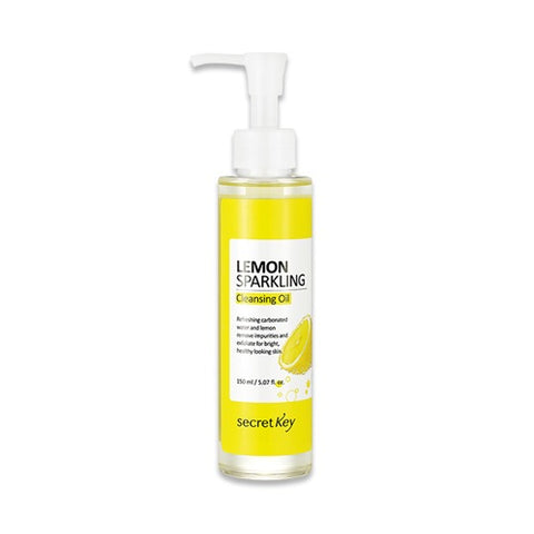 Secret Key Lemon Sparkling Cleansing Oil - 150ml - Beauty Seoul NZ
