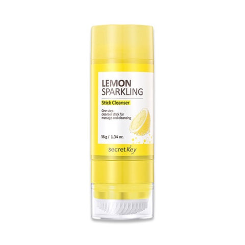 Secret Key Lemon Sparkling Stick Cleanser - 38g - Beauty Seoul NZ