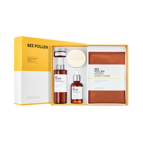 MISSHA Bee Pollen Renew Special 2 Set - 1pack (6 items) (Request) - Beauty Seoul NZ