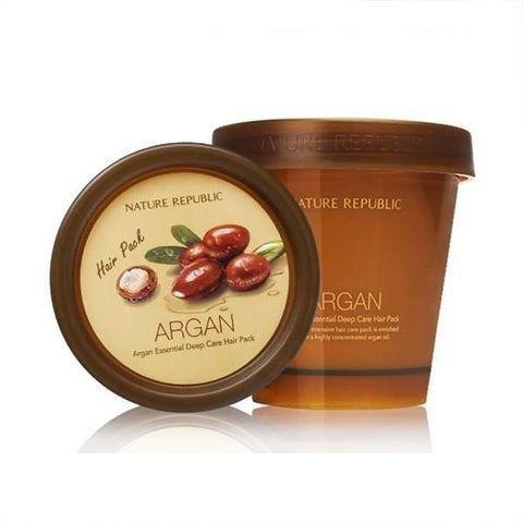 NATURE REPUBLIC Argan Essential Deep Care Hair Pack - Beauty Seoul NZ