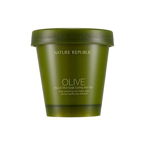 Nature Republic Natural Olive Scalp Cooling Hair Pack - Beauty Seoul NZ