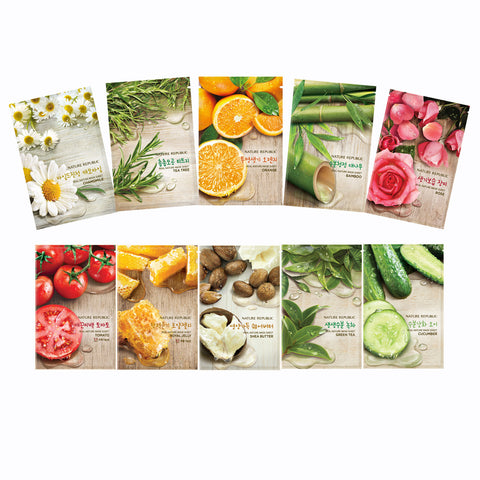 Nature Republic Real Nature Sheet Mask (1pc) - Beauty Seoul NZ