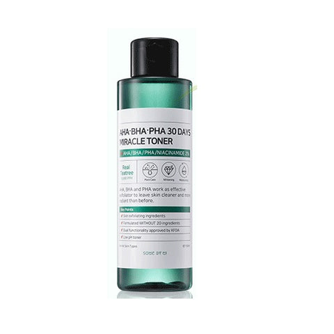 SOMEBYMI Aha-BHA-PHA 30 days Miracle Toner - Beauty Seoul NZ