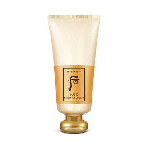 THE WHOO Gongjinhyang Facial Foam Cleanser - 180ml (Request) - Beauty Seoul NZ