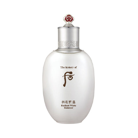 The History of Whoo - Gongjinhyang Seol Radiant White Balancer - 150ml (Request) - Beauty Seoul NZ