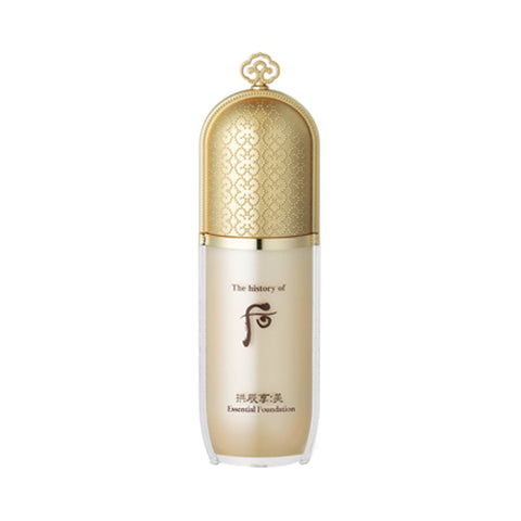 The History of Whoo - Gongjinhyang Mi Essential Foundation - 40ml (SPF30 PA++) (Request) - Beauty Seoul NZ