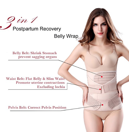 3 in 1 Postpartum  Recovery Belly/ Postnatal