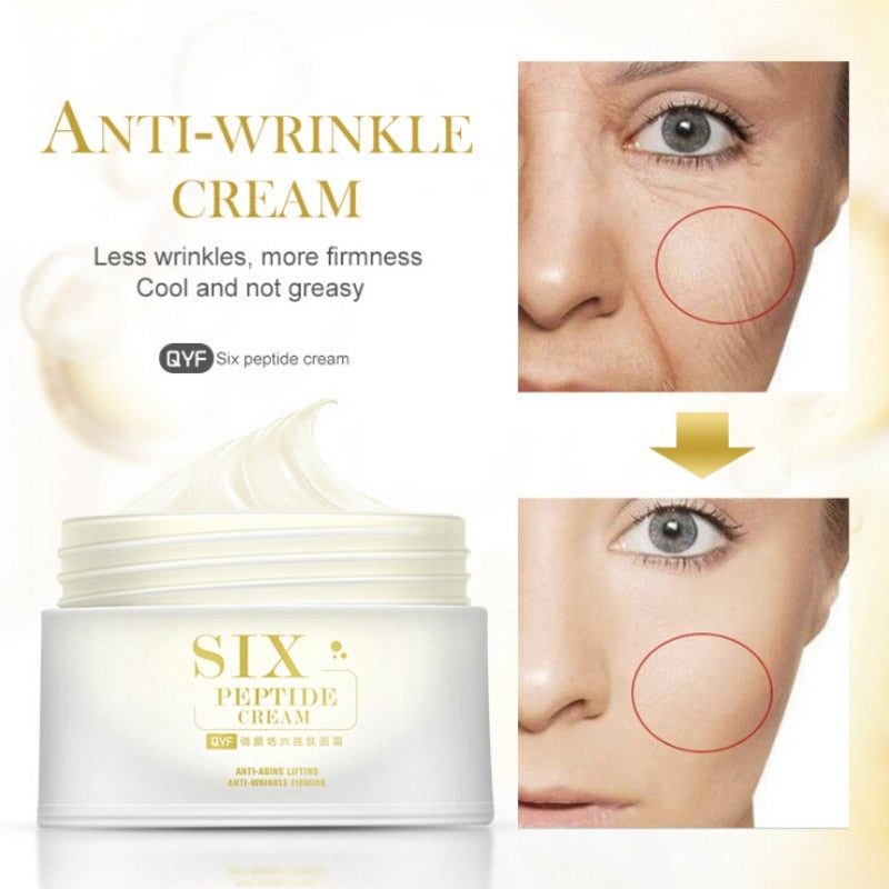 Six Peptide Anti-Aging Wrinkle Cream