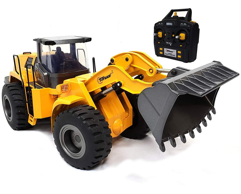 FULL FUNCTIONAL FRONT LOADER, RC REMOTE CONTROL