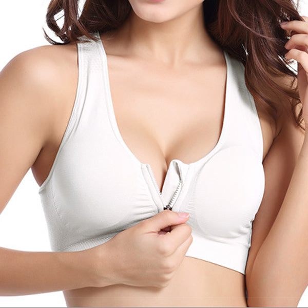 Front Zip Comfort Bra (Set Of 3)