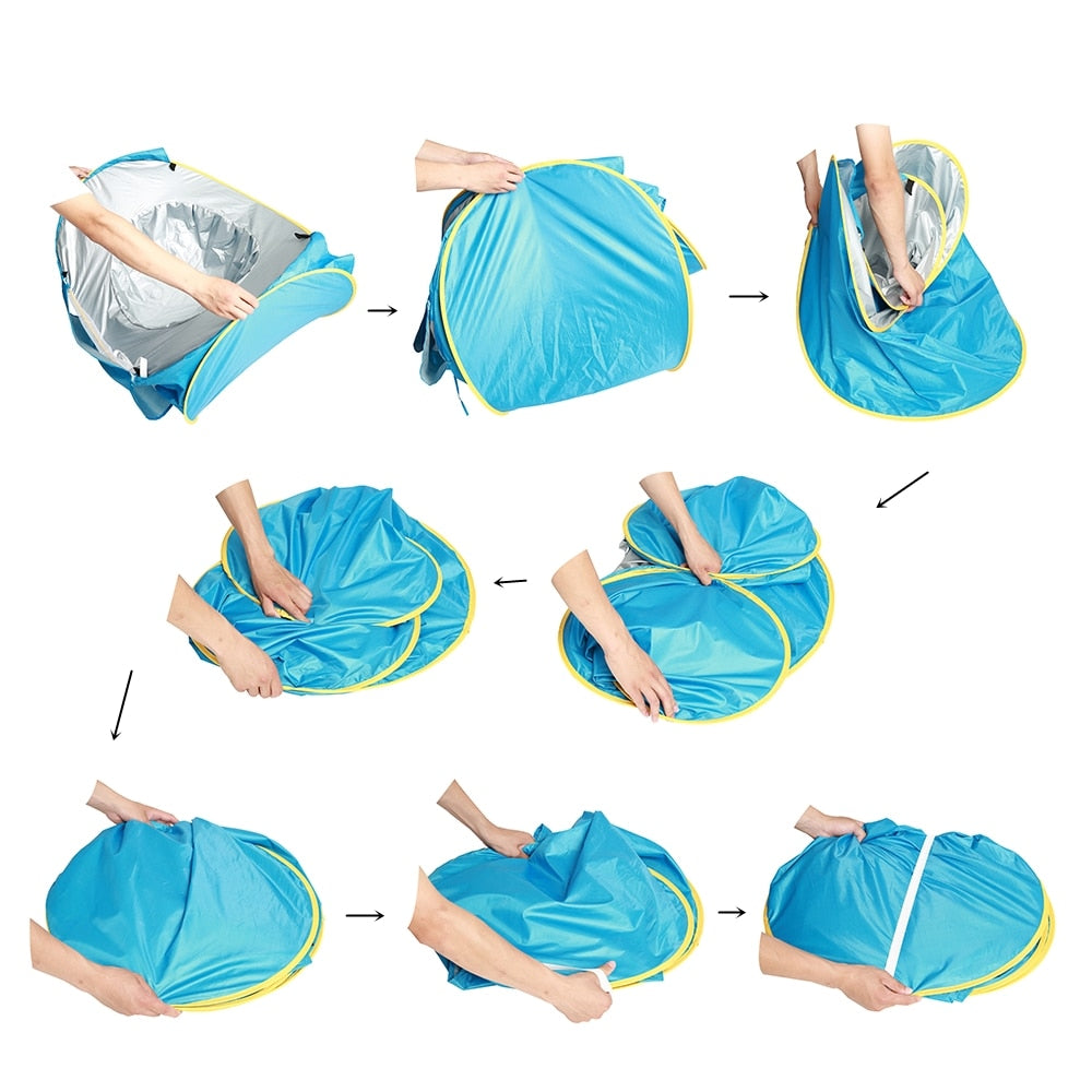 Baby Beach Tent UV-Protecting