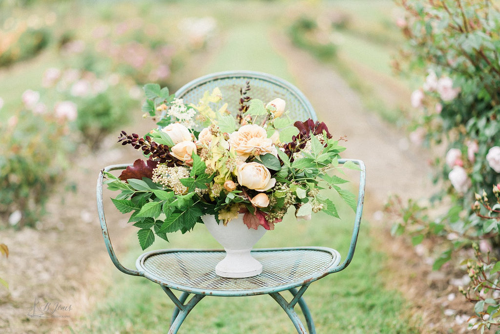 Rose Workshop in the Skagit Valley | Flirty Fleurs & All My Thyme