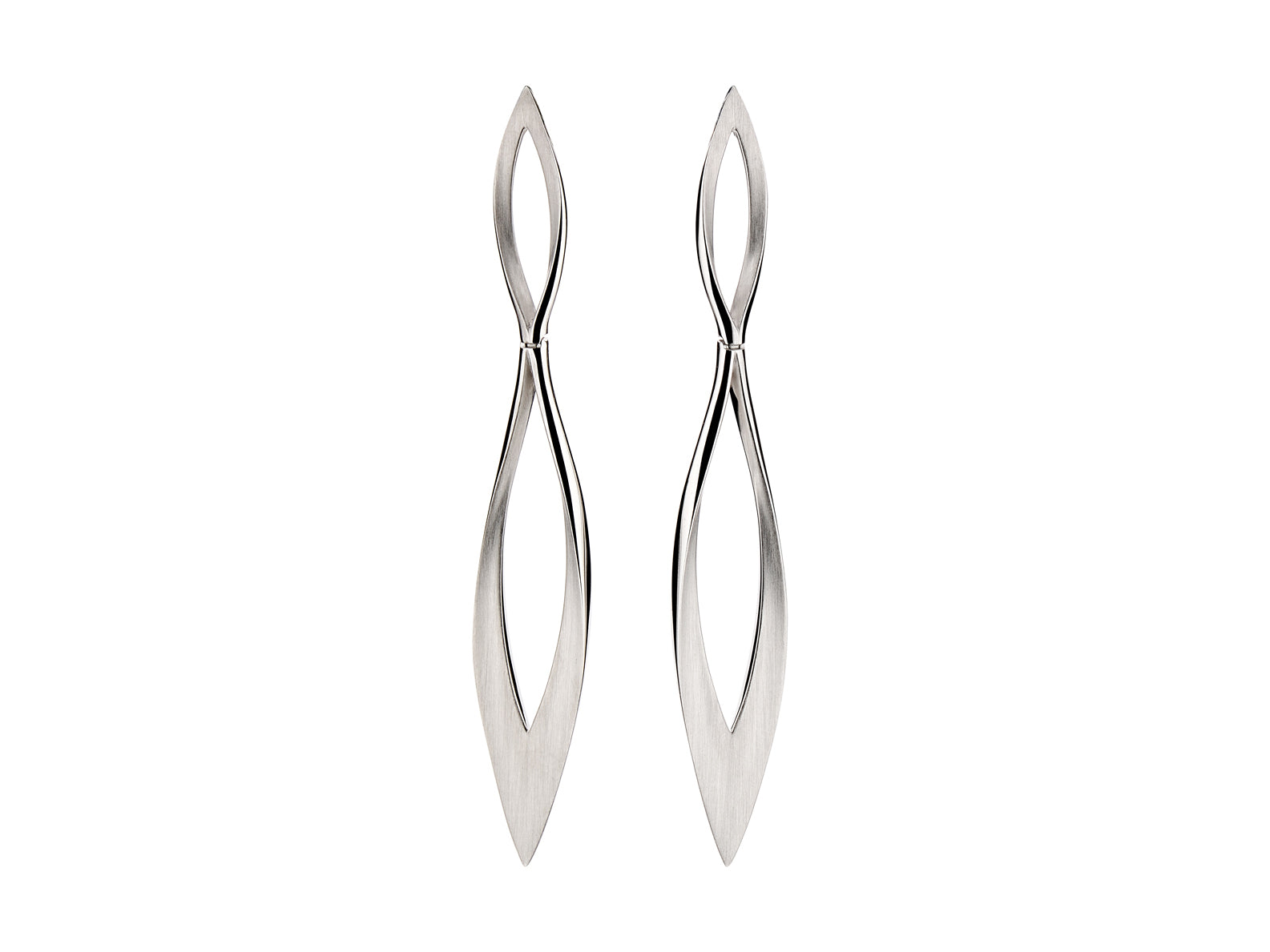"Sterling Silver ""Goddess"" Earrings"