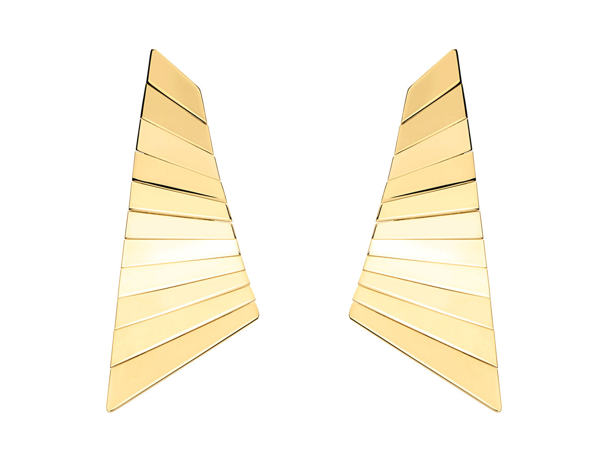 "18K Yellow Gold ""Scandal"" Earrings"