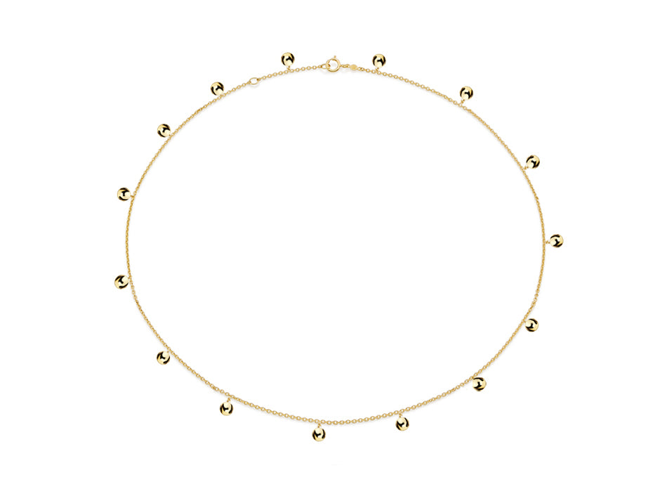 "18K Yellow Gold ""Lumi"" Necklace"