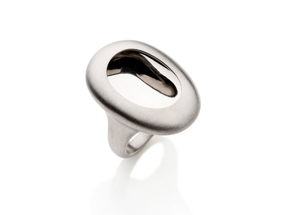 "Sterling Silver ""Inside"" Ring"