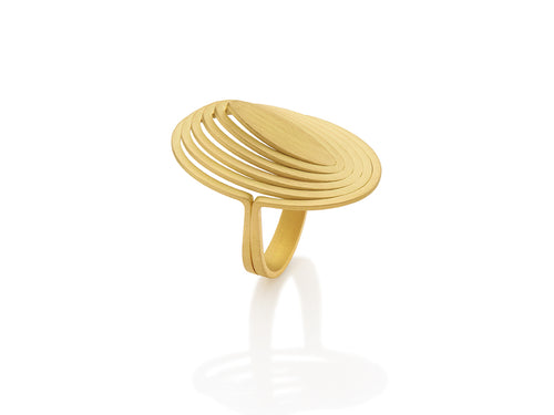 "Antonio Bernardo 18K Yellow Gold ""Vibe"" Ring in Washington DC"