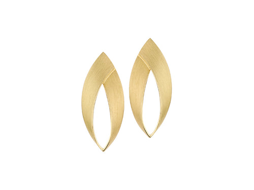 "18K Yellow Gold ""Lume"" Earrings"