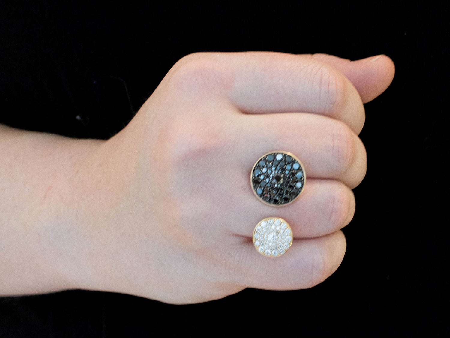 Unique Black Diamond Ring in Washington DC