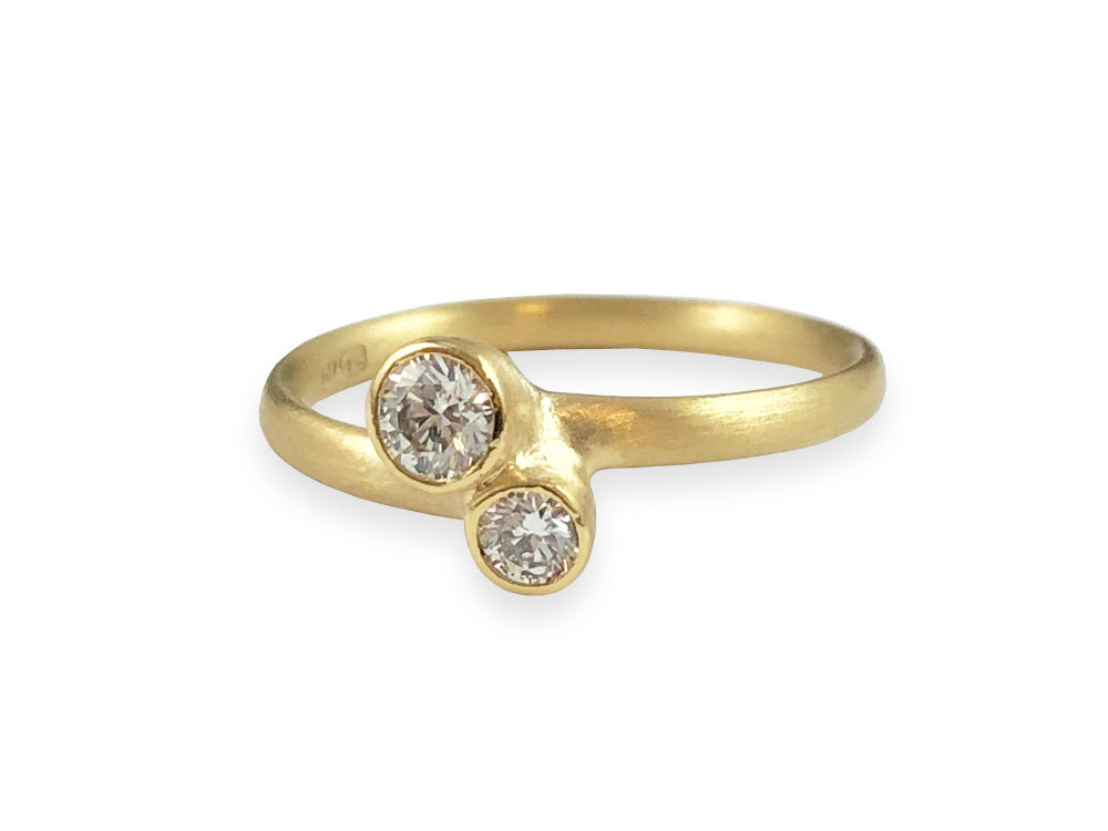 Two-Diamond Ring