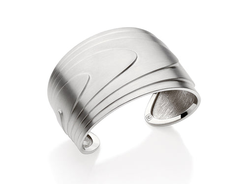 "Sterling Silver ""Topos"" Cuff Bracelet"