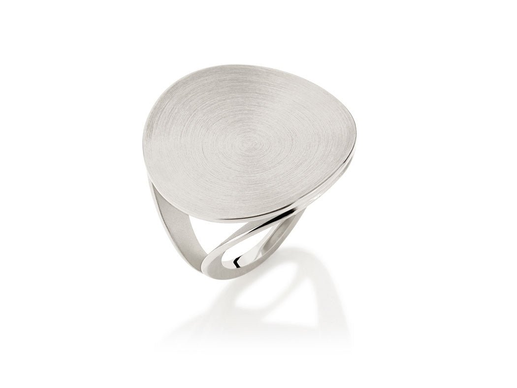 "Sterling Silver ""Equilatero"" Ring"