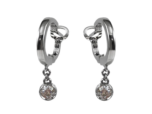 Unique White Gold and Diamond Earrings at the Best Jewelry Store in Washington DC