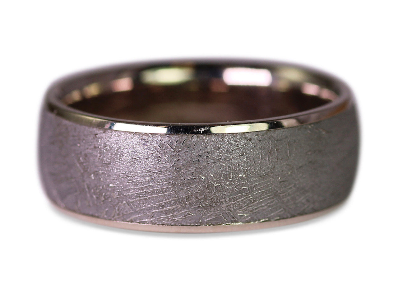 Gibeon Meteorite Men's Wedding Band